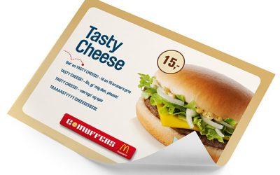Bæredygtige bakkeservietter til McDonald's