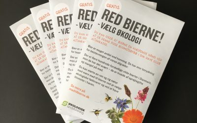 30.000 poser blomsterfrø skal redde bierne