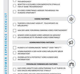 Checkliste til at kommunikere bæredygtighed