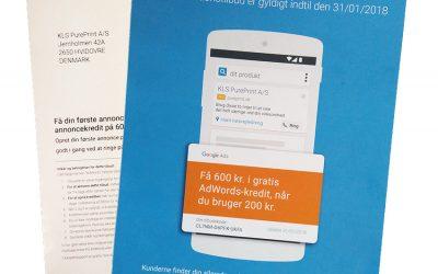 Google: Trykte reklamer virker – de bruger det selv!